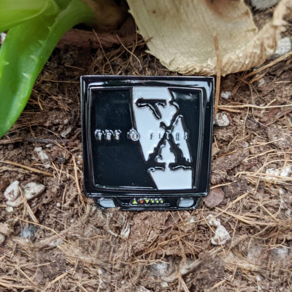 X-Files Enamel Pin