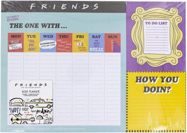 Friends Weekly Planner