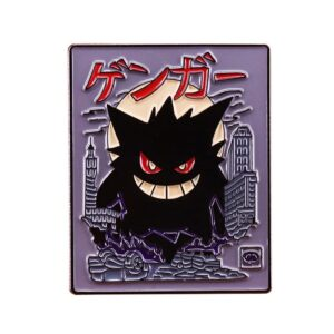 Dark Gengar Pokemon Pin