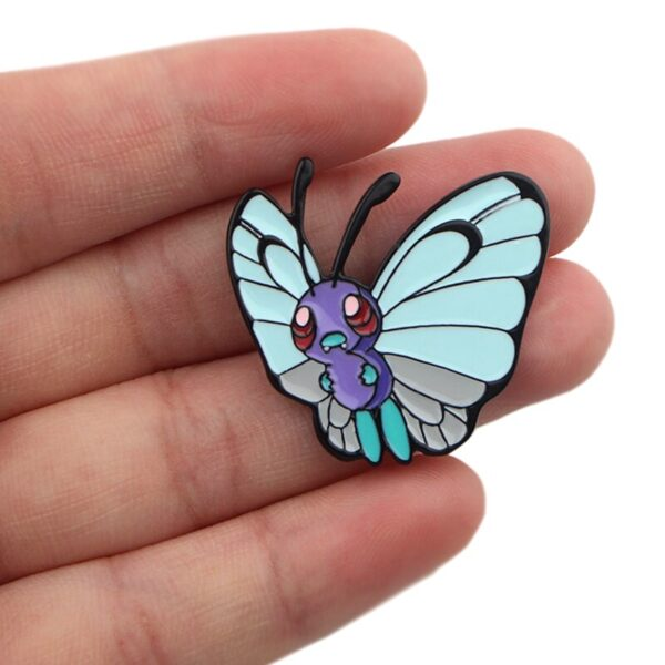 Butterfree Pokemon Pin Badge
