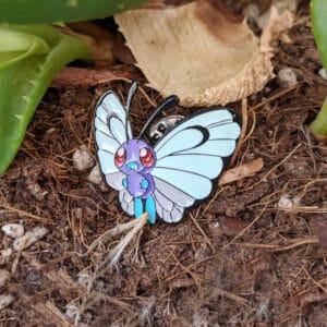 Butterfree Pokémon Pin