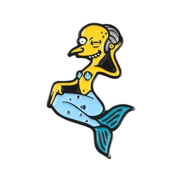 Mr Burns Sea Pin