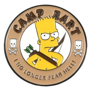 Camp Bart Pin