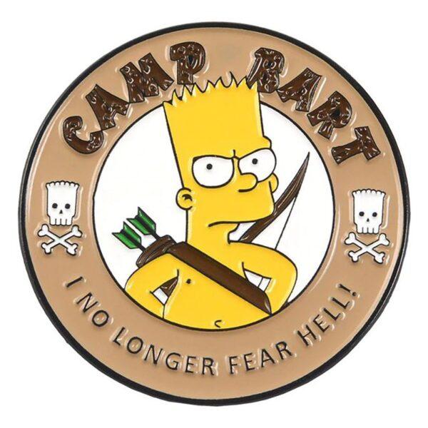 Camp Bart Pin