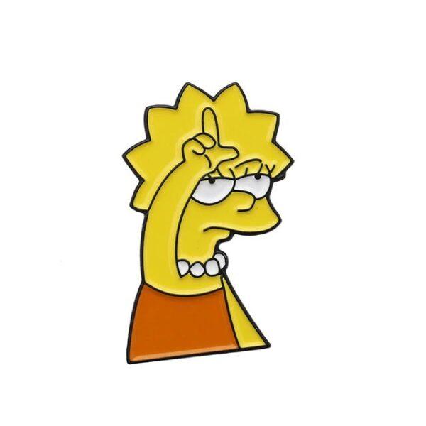 Loser Lisa Simpson Pin