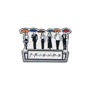 Friends Umbrella Pin