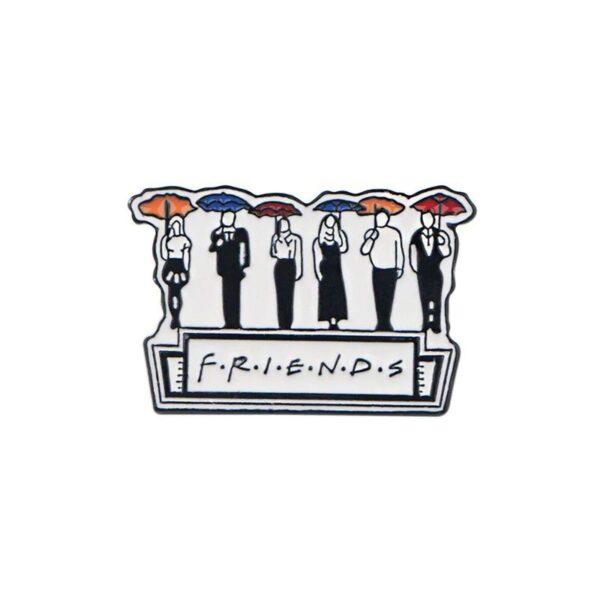 Friends Umbrella Pin
