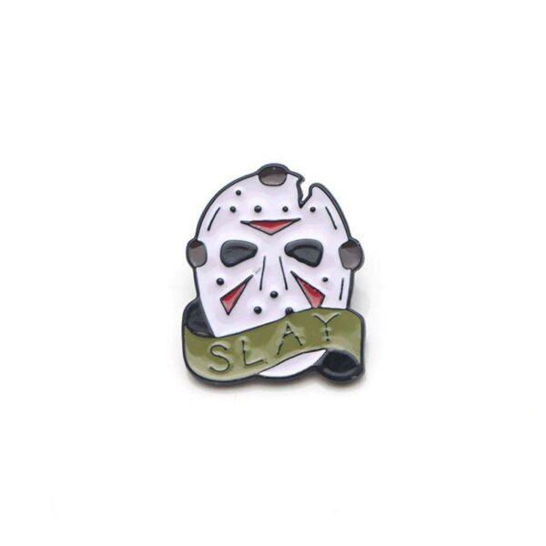 Jason Slay Mask Pin