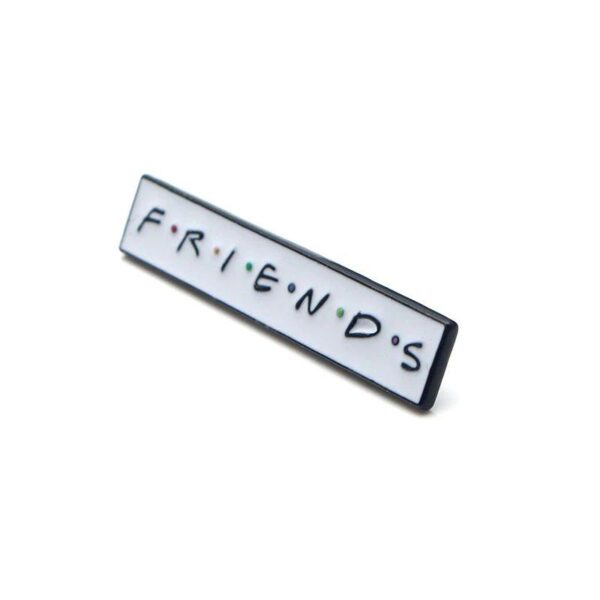 Friends Logo Pin