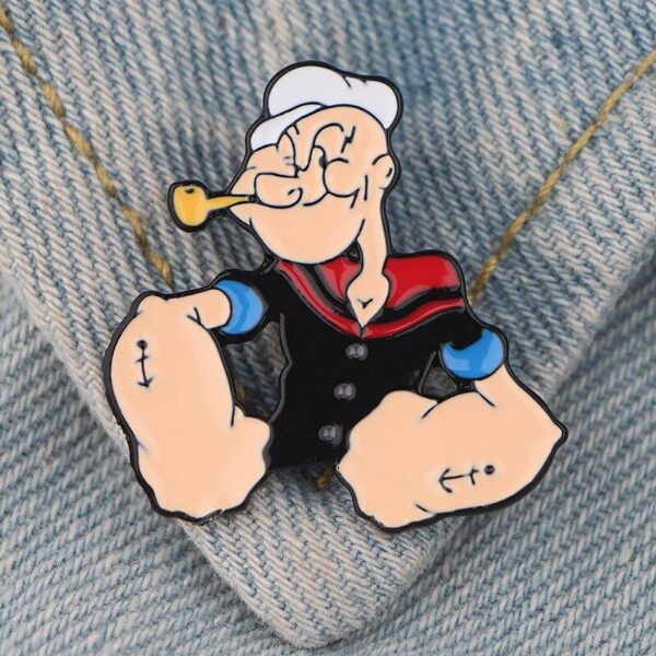 Popeye The Sailor Man Pin
