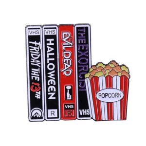 Horror Movies VHS Pin