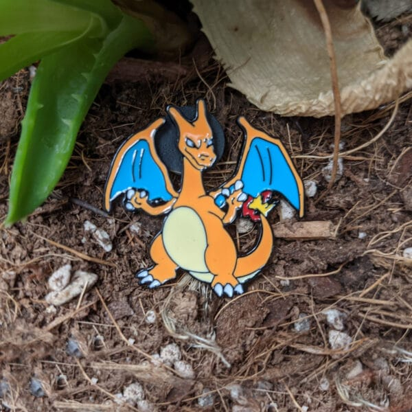 Charizard Pokémon Pin