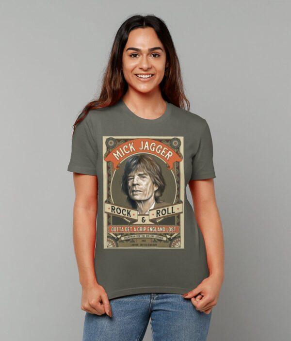 Mick Jagger Rock N Roll T-Shirt Female