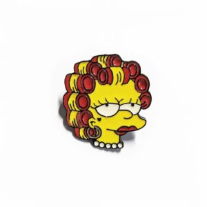 Punk Lisa Simpson Pin