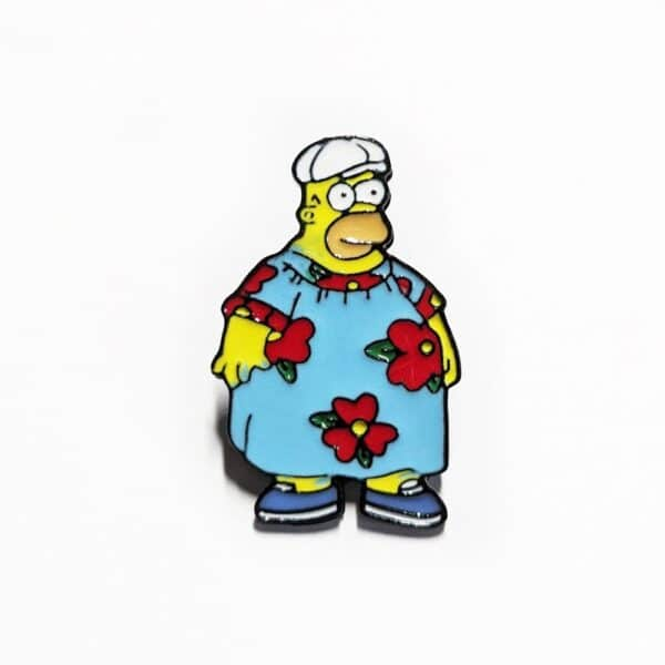 Fat Homer Pin