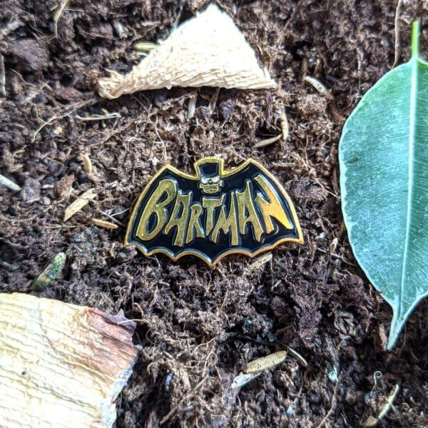 Bartman Pin