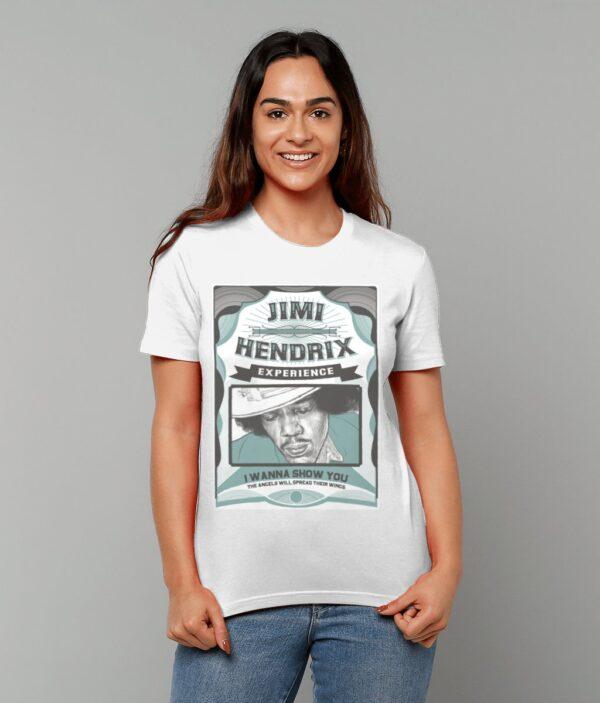 JIMI HENDRIX SHOW T-SHIRT WHITE