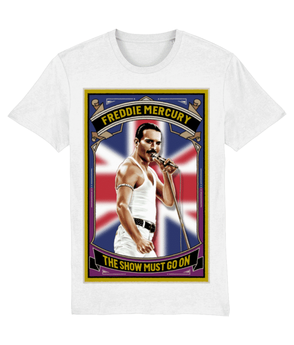The Show Must Go On T-Shirt - White