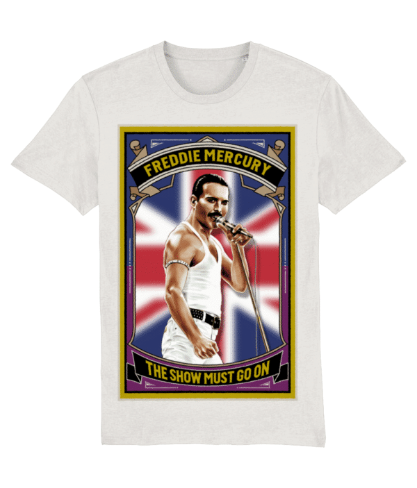 The Show Must Go On T-Shirt - Vintage White