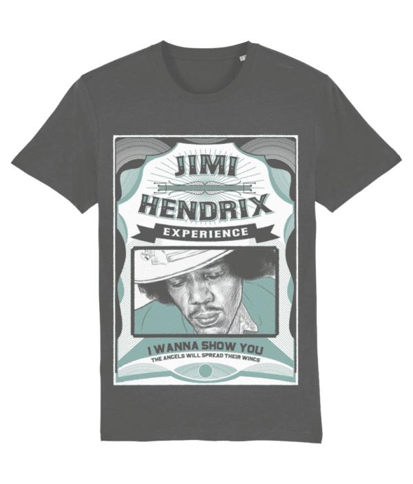 JIMI HENDRIX SHOW T-SHIRT ANTHRACITE