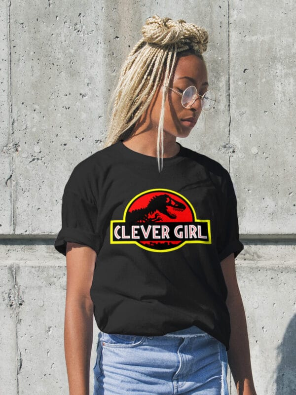 Clever Girl T-Shirt Woman