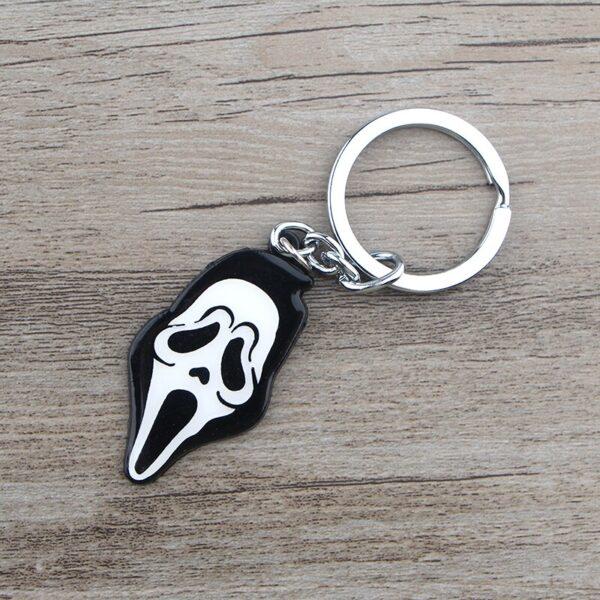 Scream Mask Key Ring