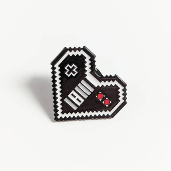NES Heart Pin