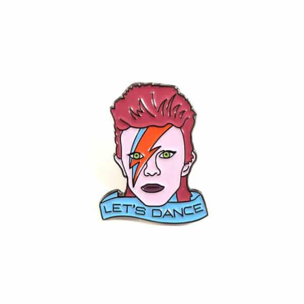Let's Dance David Bowie Pin