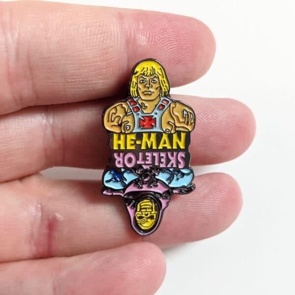 He-Man & Skeletor Pin