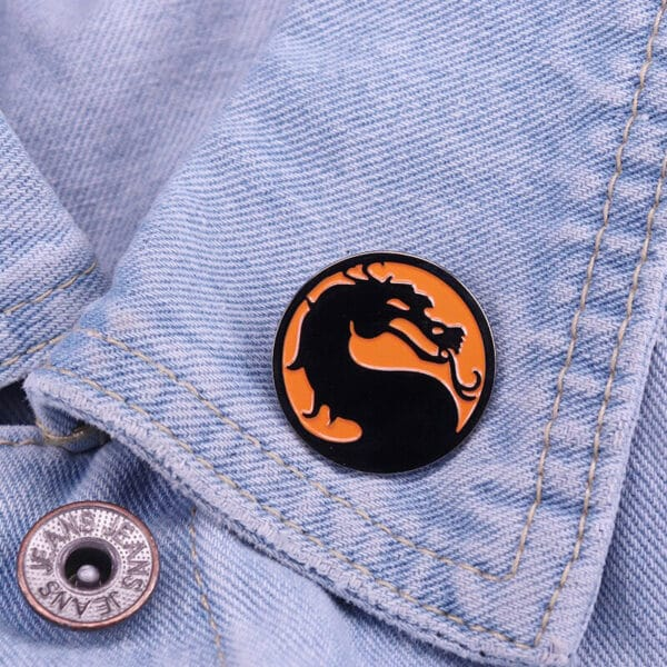 Mortal Kombat Pin