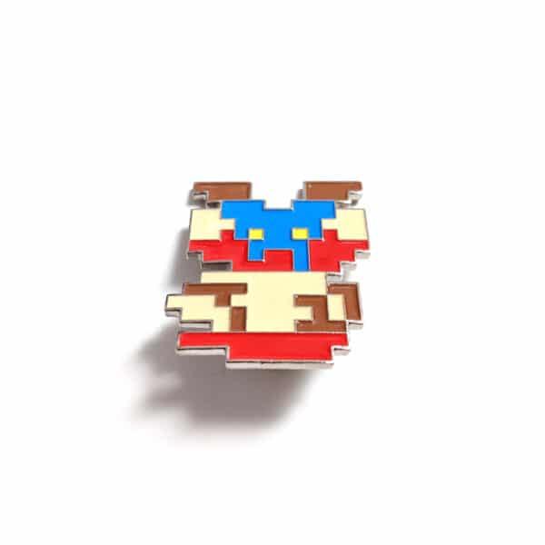 8 Bit Mario Pin Top