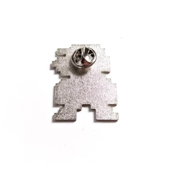 8 Bit Mario Pin Back