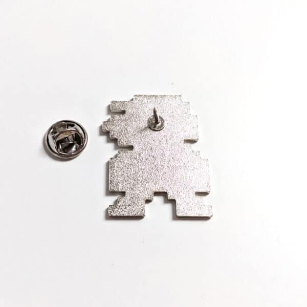 8 Bit Mario Pin Back Alt