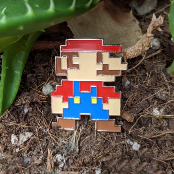 8 Bit Mario Pin in the world