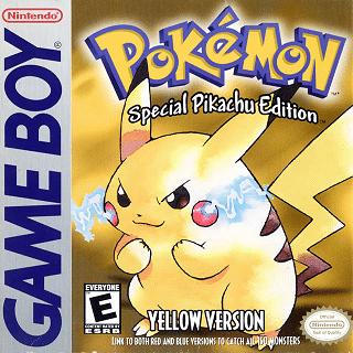 Pokémon Yellow Box Art
