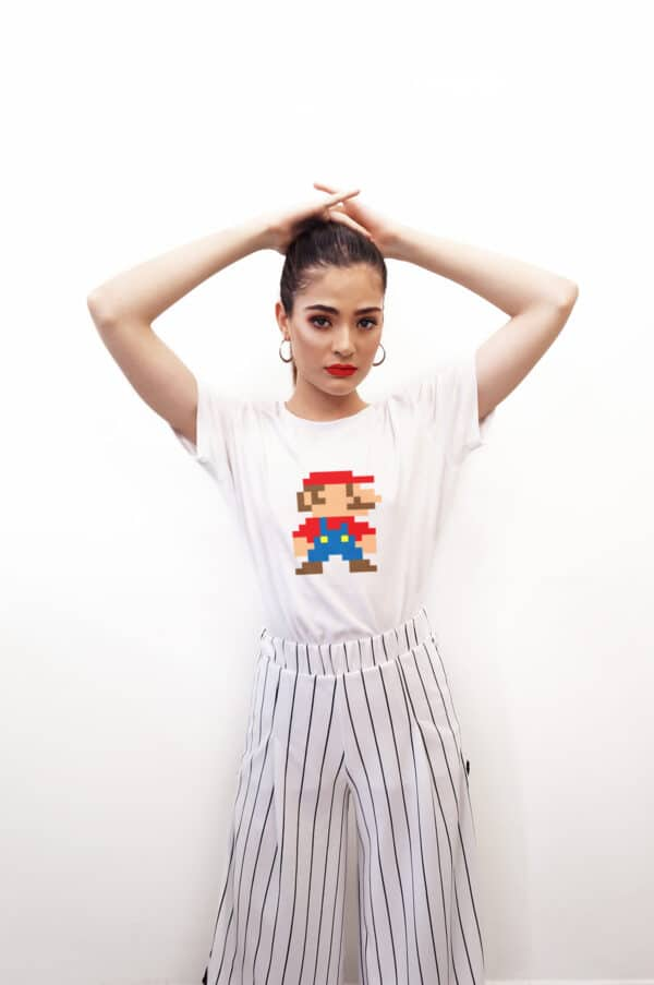 8 Bit Mario T-Shirt