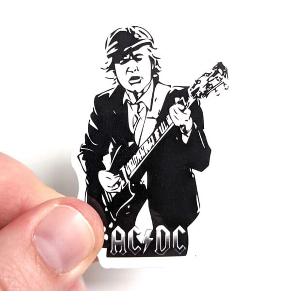 AC/DC Angus Young Sticker