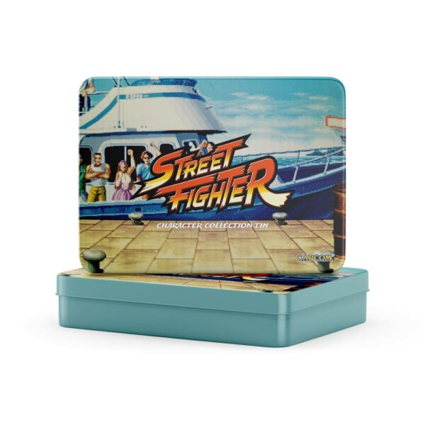 Street Fighter Collectors Tin 12 Pins
