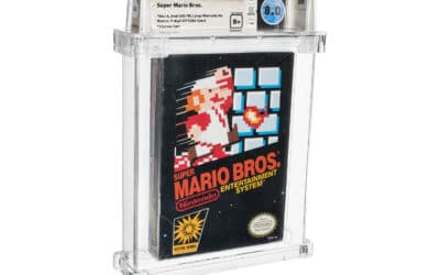 Most Expensive Copy of Mario Bros Ever Sold