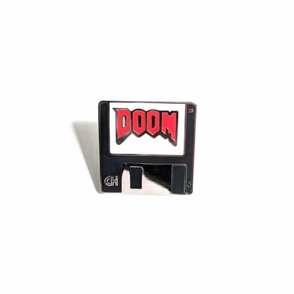 Doom Floppy Disk Pin