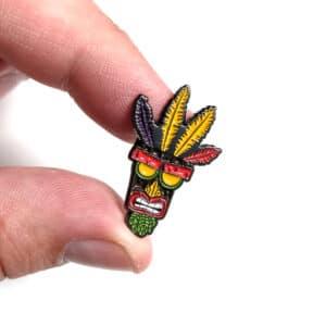 Aku Aku Crash Bandicoot Pin