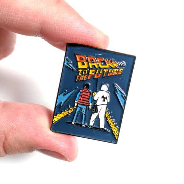 Back To The Future Pin