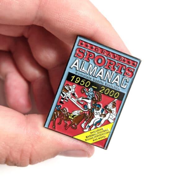 Back to the Future Sports Almanac Pin