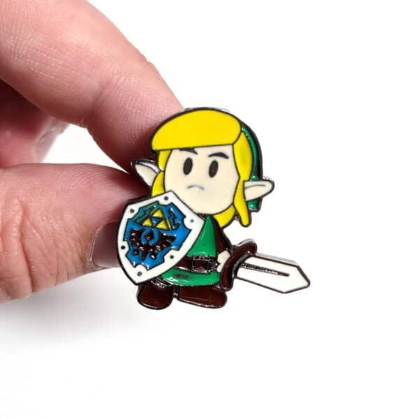 Legend of Zelda - Link Pin