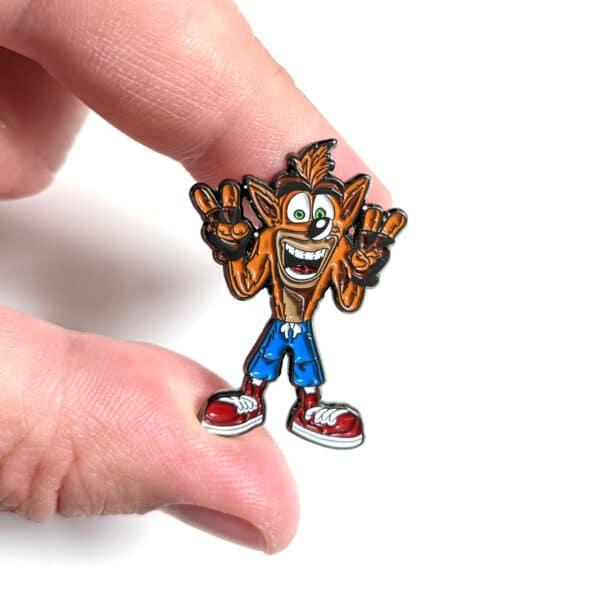 Crash Bandicoot Pin