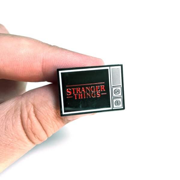 Stranger Things TV Enamel Pin