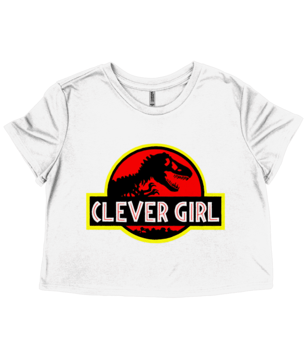 Clever Girl - Ladies Cropped T-Shirt